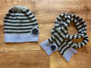 Шапочка и шарф от oodji